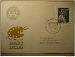 Painting Budapest 1980 Fdc Cover Hungary