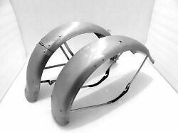 Set Fenders Front And Rear Harley Davidson Wla Model 1942 And