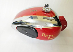 Model Royal Enfield The Pre-war Yearsand039 90 Model Chrome-plated And Tank The