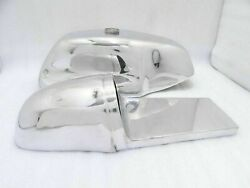 Fuel Tank With Cap Saddle Cafe Racer Alloy Vintage Ducati 750 Ss