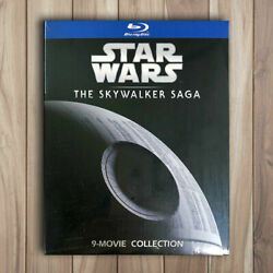 Star Wars The Skywalker Saga Collection Complete 1-9 Blu-ray, 9 Discs Not Dvd