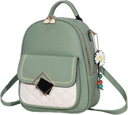 Mini Backpack Purse for Teen Girls Leather Backpack for Women Cute Casual Travel $31.91