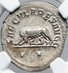 Philip I The Arab Saecular Games Ancient Vintage Roman Coin She-wolf Ngc I87731