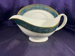 Royal Doulton Carlyle Gravy Boat W/underplate 7 1/4
