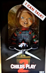 Mezco Mds Mega Scale Talking Menacing Childs Play Chucky Action Figure Doll New