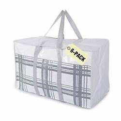 Kombuwa Extra Large Storage Bags Heavy Duty Moving Tote Bags- Xl Space Saver ...