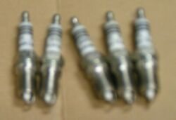 Bosch Platinum Spark Plugs Hr8dpx - Set Of 5 Sparkplugs - New Old Stock