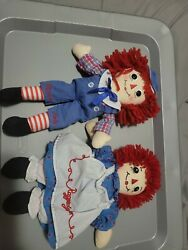 Raggedy Anne And Andy Doll, 12