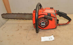 Homelite 360 Automatic Professional Chainsaw Collectible Big Logging Saw Tool X5
