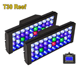 New Smart View Clear Look Led Aquarium Light For Fish Tank Reef Coral Grow Lamp