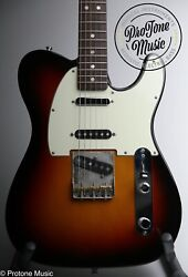 Fender American Vintage 60s Hot Rod Telecaster Limited Edition And Case And Tags