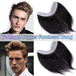 Toupee Hairpiece 100 Virgin Human Hair Replacement System Wigs Fine Mono 150