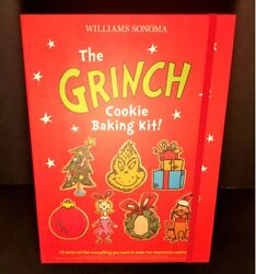 Williams Sonoma Christmas Cookie Cutter Baking Kit Cindy Lou Max New