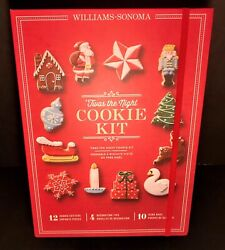 Williams Sonoma Twas The Night Before Christmas Cookie Cutter Baking Kit New/nib