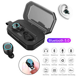 Tws Bluetooth 5.0 Earphone Wireless Stereo Headset Twins Earbuds Noise Reduction