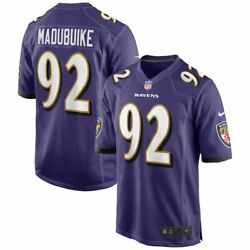Baltimore Ravens Justin Madubuike 92 Nike Menand039s Official Nfl Player Game Jersey