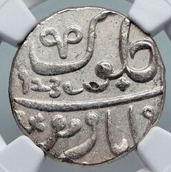 1829 Fe 1239 India British Old Bombay Presidency Silver Rupee Coin Ngc I90692