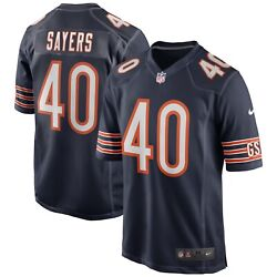 Chicago Bears Gale Sayers 40 Nike Men's Official Nfl Game Retired Player Jersey