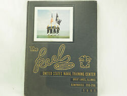1951 Usa Navel Training Center Great Lakes Ill Companies 255-56 The Keel Anchor