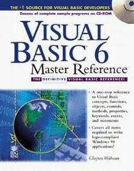 Visual Basic 6 Master Reference By Walnum Clayton Mixed Media Product Book The