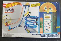 Hot Wheels Track Builder Vertical Launch Kit With 3-configurations Box Open Wear