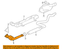 Gm Oem-exhaust System-catalytic Converter And Pipe 22970501