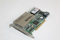 National Instruments High-res Multifunction I/o Data Acquisition Card Pci-6031e