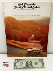 Oem Gm 1968 Chevrolet Chevy Family Travel Guide - Vintage Trailer Camping