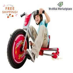 360 Drifter Sparks Red And Pink Trike Ages 6+ Easy Grip And Assembly Free Shipping