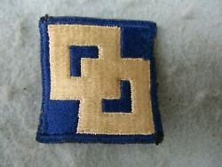 Wwii Us Army Patch 2nd Service Command New York City Ny American Theater Ww2