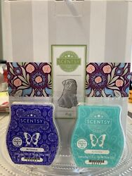 Pug Premium Warmer By Scentsy With 2 Bars Of Fragrant Wax, Great Lot