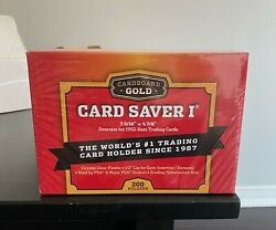 Card Saver 1 Cardboard Gold 200 Count - Box Of 4 Packs - Fast Shipping - Canada