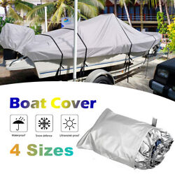 300d Boat Outboard Motor Engine Cover Bass Boats Heavy Duty V-hull Tri-hull X3d1