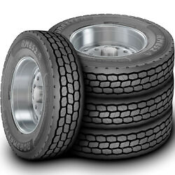 4 Roadmaster By Cooper Rm852 Em 295/75r22.5 G 14 Ply Drive Commercial Tires
