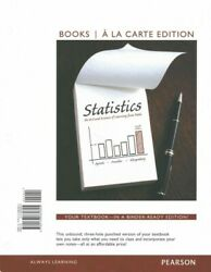 Statistics The Art And Science Of Learning From Data Paperback By Agresti...