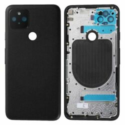Oem For Google Pixel 5 Rear Back Cover Housing Glass Battery Door Replacement Us