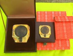 Official Winter Olympic Participation -two Medals Sarajevo 1984 In Original Case