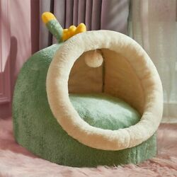 Warm Removable Cat Bed House Kennel Nest Pet Nest Litter Dog Kennel Sofa House