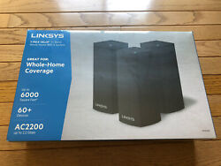 Linksys Velop Ac2200 3 Pack Router Whw0303b Brand New Best Offer