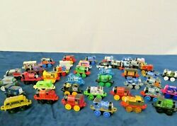 Lot Of 42 Thomas The Train And Friends Childrens Toys Mini Engines Clean