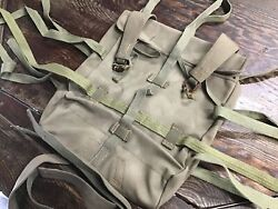 Y2592 Imperial Japan Army Bag Military Mint Condition Japanese Ww2 Vintage
