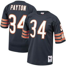 Chicago Bears Walton Payton 34 Mitchell And Ness Navy Nfl 1985 Authentic Jersey