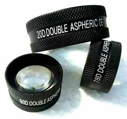 Non Contact Aspheric Lens 20d 90d And 78d Free International Shipping Best Price