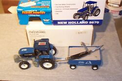 Schrade 34ot Stockman In Ertl New Holland Tractor And Wagon Display Made 1999