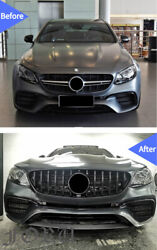 For E63 / E63s Amg Mercedes-benz W213 2016-2020 Front Grill Facelift Grilles