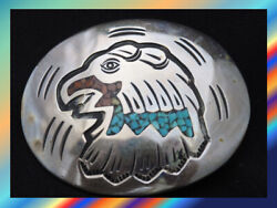 Indian Jewelry Native Accessories Navajo Writer By Nezzie Crash Turquoise 4m404