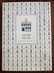 Klm Bols Amsterdam Delft Pottery House No 90 Collectors Book All Houses Listed
