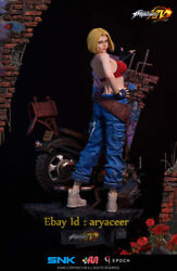 Presell Epoch Studio King Of Fighters 14 Blue Mary Snk Statue Limited Model