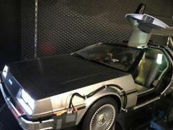 Delorean Hot Toys 1/6 Back To The Future Time Machine Mms260 Movie