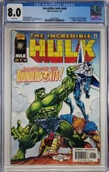 Marvel Incredible Hulk 449 Cgc 8.0 1st Appearance Of Thunderbolts Hot
